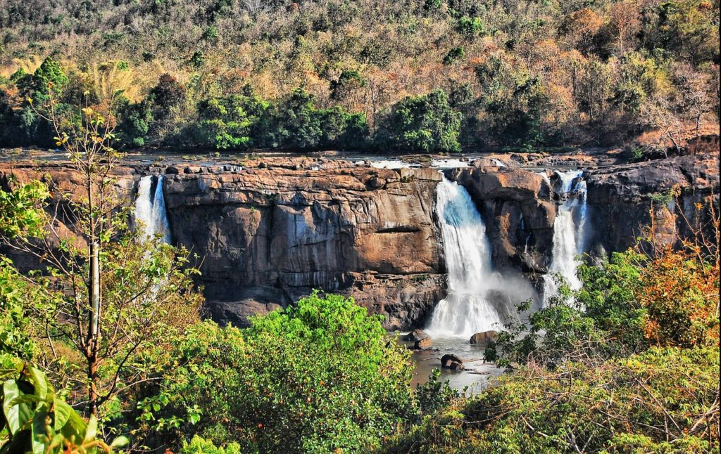 Athirappilly Waterfalls, Thrissur