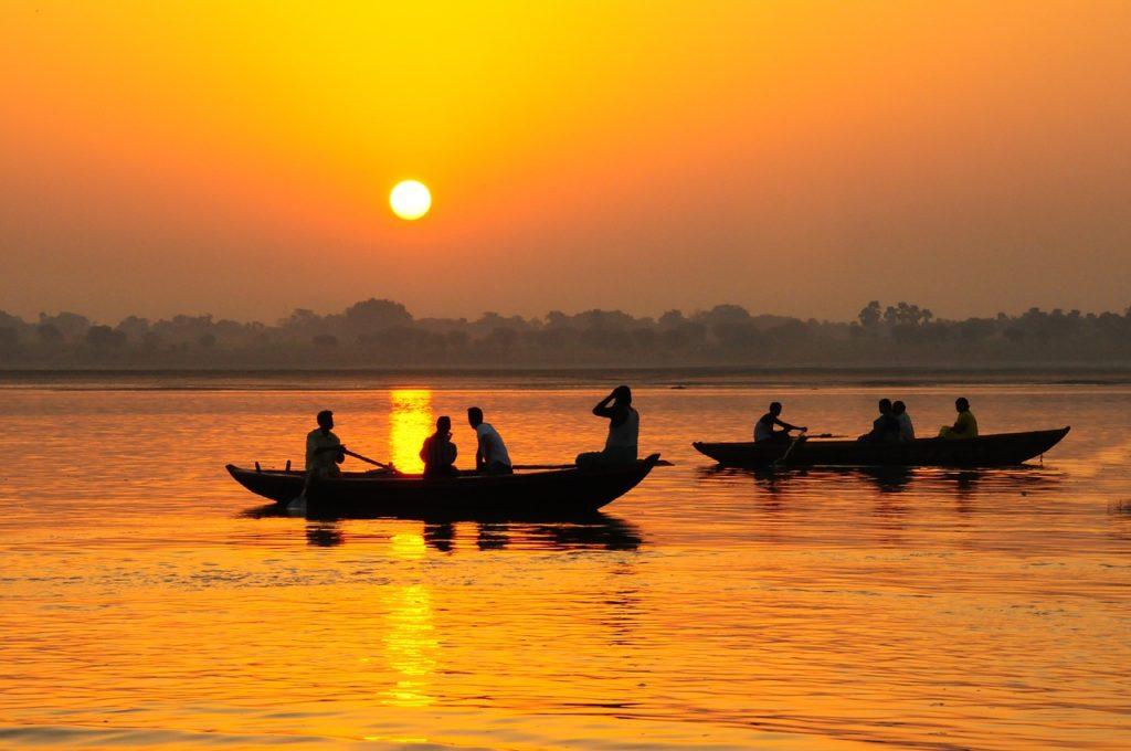 River Ganga, India
