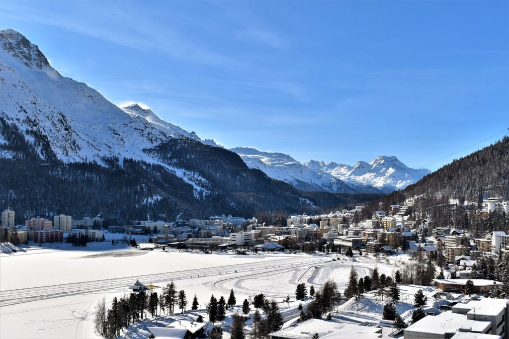 Top hill station - St. Moritz, Switzerland