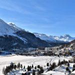 Top hill station - St. Moritz, Switzerland
